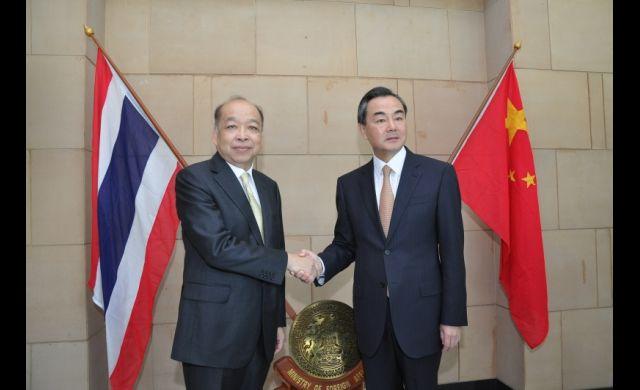 Thailand and China trade