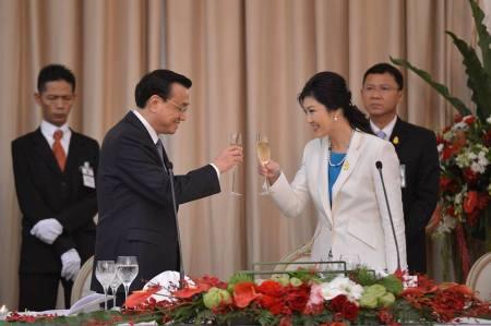 Thailand China Li And Yingluck