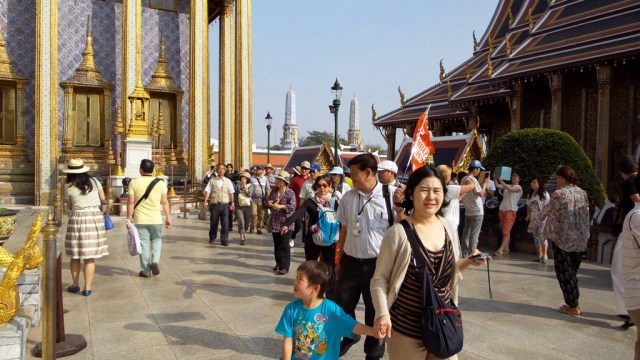 Thailand's tourist arrivals