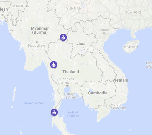 Myanmar'sMinistry of Labour, Immigration and Populationhas extended e-visas to three overland crossings with the Kingdom of Thailand.