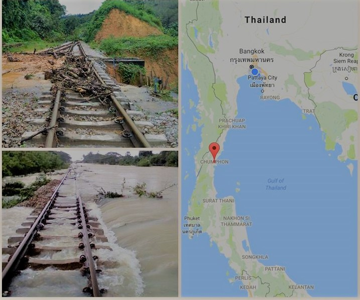 Southern Thailand Floods Situation Update