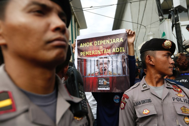 Ahok, the popular Chinese-Christian former governor of Jakarta, has been sentenced to two years in prison