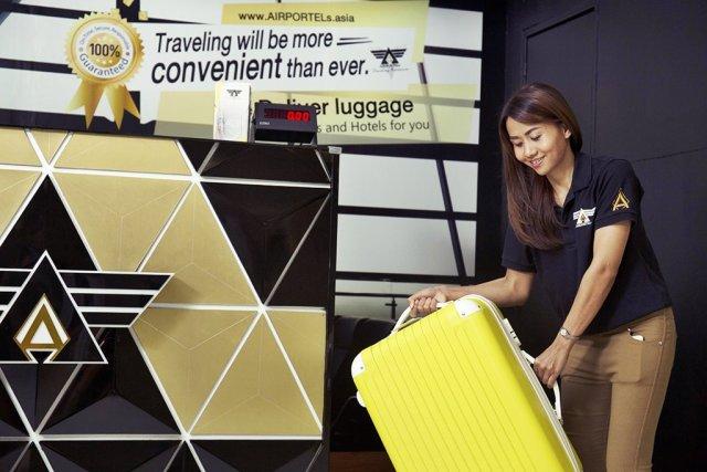 Free luggage deposit at Suvarnabhumi Airport