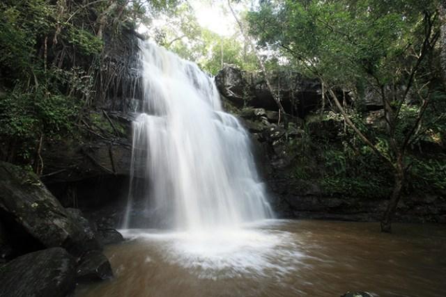 Tat Fa Waterfall in Phu Wiang National Park