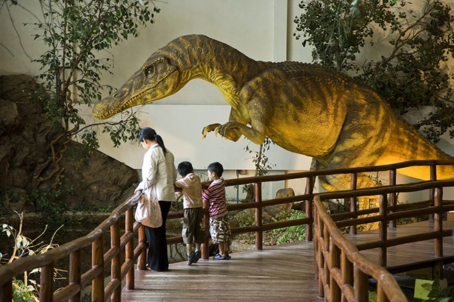 Jurassic Isan take families off Thailand's beaten track