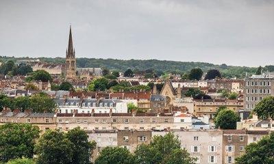 Cityscape view of Bristol, UK