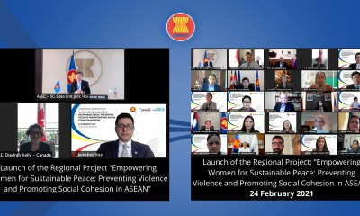 Joint Press Release ASEAN, Canada, UN Women jointly launch 5-year programme to advance Women, Peace and Security Agenda