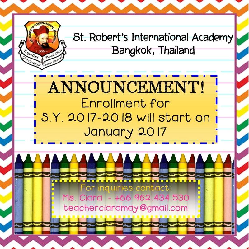 St  Robert's INternational Academy