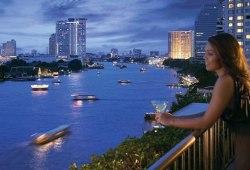 Bangkok riverside hotel