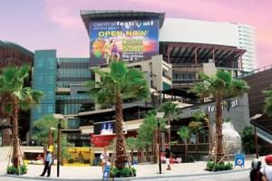 Central festival Pattaya beach shopping mall
