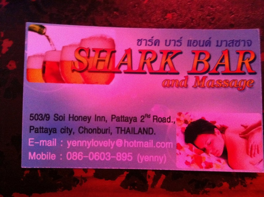 Beer Bars in Pattaya shark bar