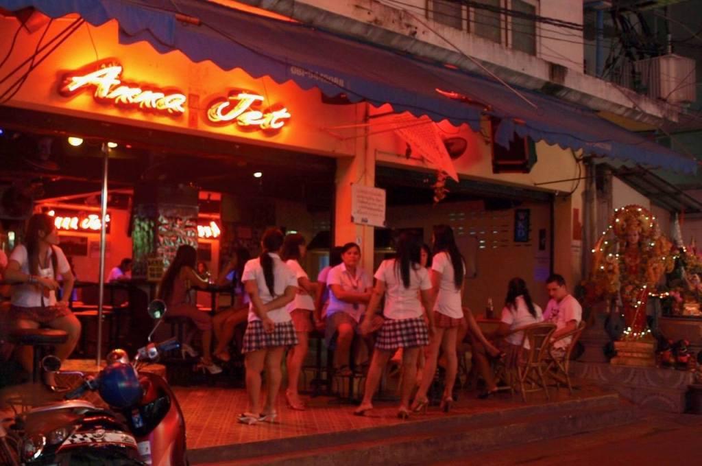 Pattaya City — Walking Street anna jet