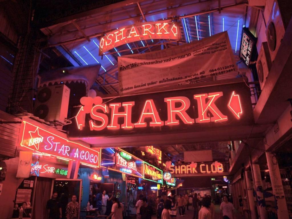 Pattaya, Thailand shark bars