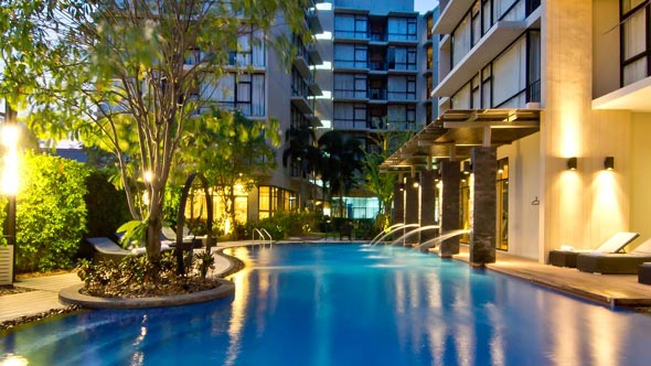 At Mind Serviced Residence an der Second Road in Pattaya › Thailand Aktuell