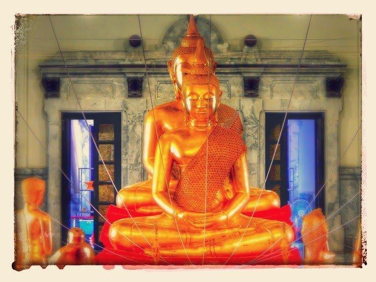 Wat Sothonwararam Chachoengsao Province Thailand