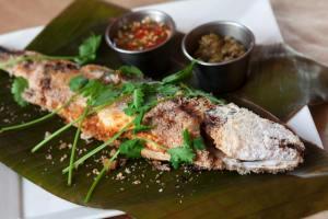 Thai seafood