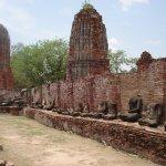 Ayutthaya city Thailand phra nakhon si ayutthaya historical park