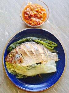 Spicy Thai fish dish