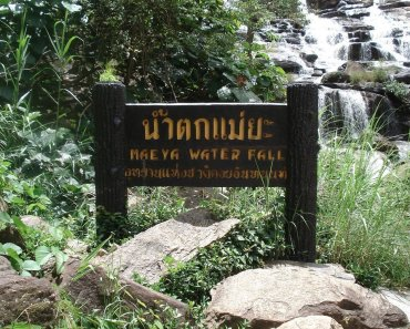 Mae Ya Waterfall Doi In Thanon Park Chiang Mai