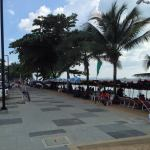Jomtien beach road
