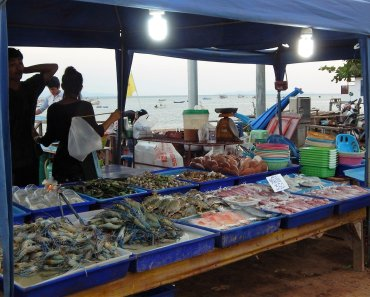 Koh Lan Seafood Market Discover Thailand