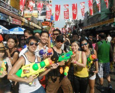 Bangkok Songkran festival