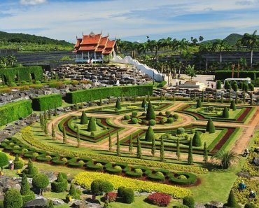 Pattaya attractions Nong Nooch tropical gardens