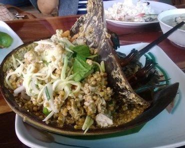 Thai food King crabs