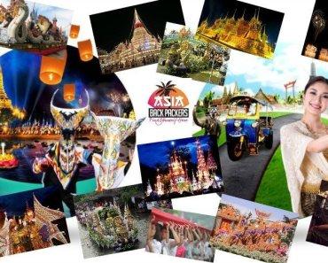 Thailand festivals Chula Kathin