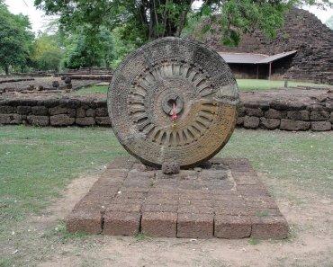 Thailand Buddhism Dvaravati art