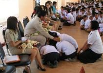 Thailand Teachers Day Wai Kru