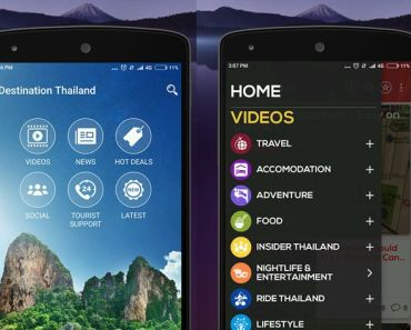 Thailand tourists app