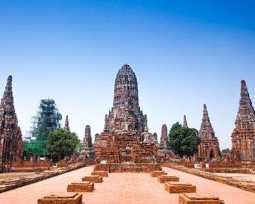 Thailand Ayutthaya Wat Chaiwatthanaram-