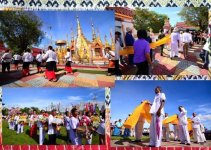 Thailand Festivals Khuen That Duean Kao Tradition 2017