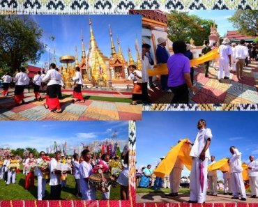 Thailand Festivals Khuen That Duean Kao Tradition