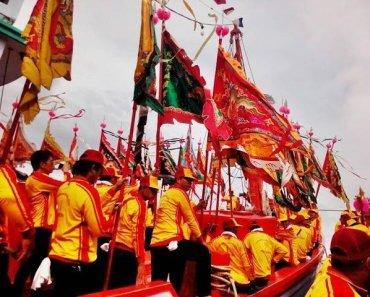 Thailand festivals Samut Sakhon