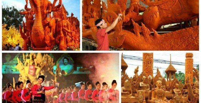 Thailand Candle Light Festivals