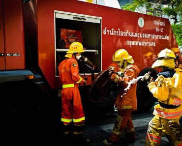 Thailand Firefighters