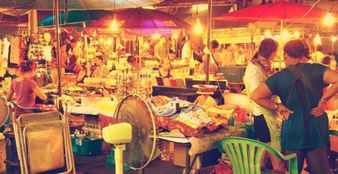 Phitsanulok Night Market Phitsanulok Province Thailand