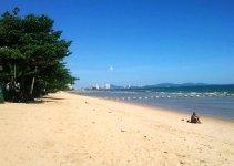 Jomtien Beach, Pattaya Thailand Drone Footage
