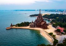 The Sanctuary Of Truth Pattaya By Drone
