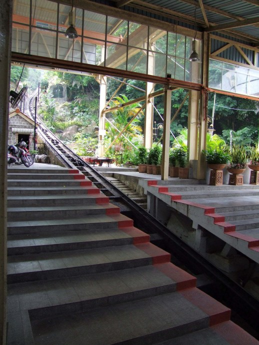 gare funiculaire penang hill malaisie