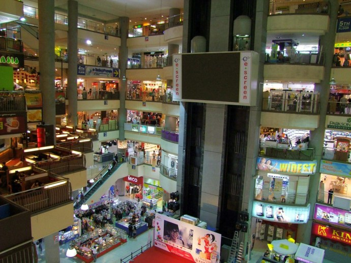 ict digital mall komtar centre commercial penang malaisie