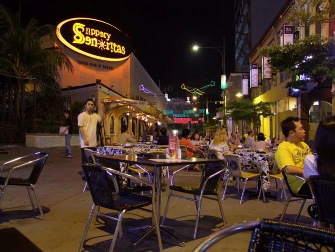 rue bars jalan penang malaisie