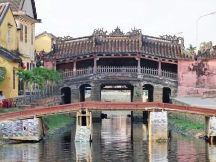 pont japonais hoi an - vietnam