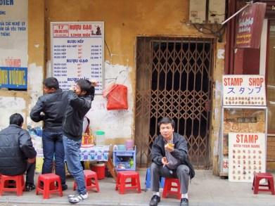 rue hanoi - vietnam 2010
