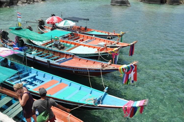 longue queue ko nang yuan - ko tao - thailande