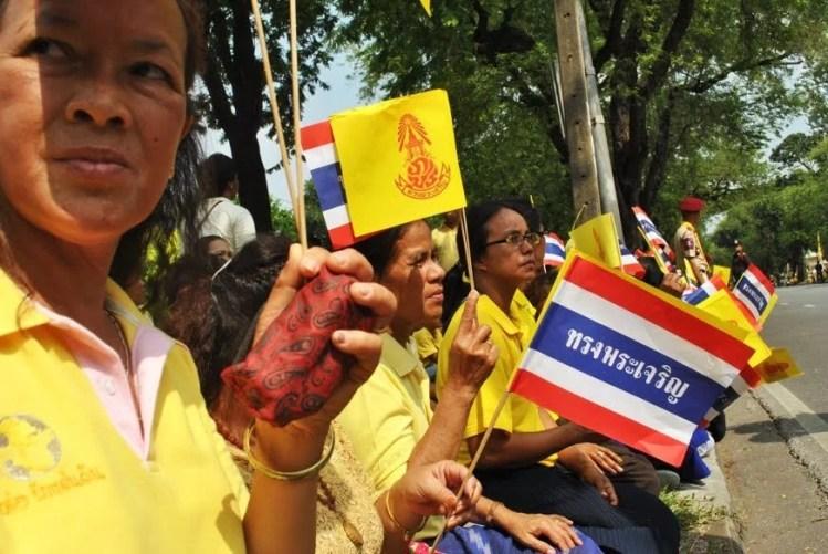 anniversaire roi thailande