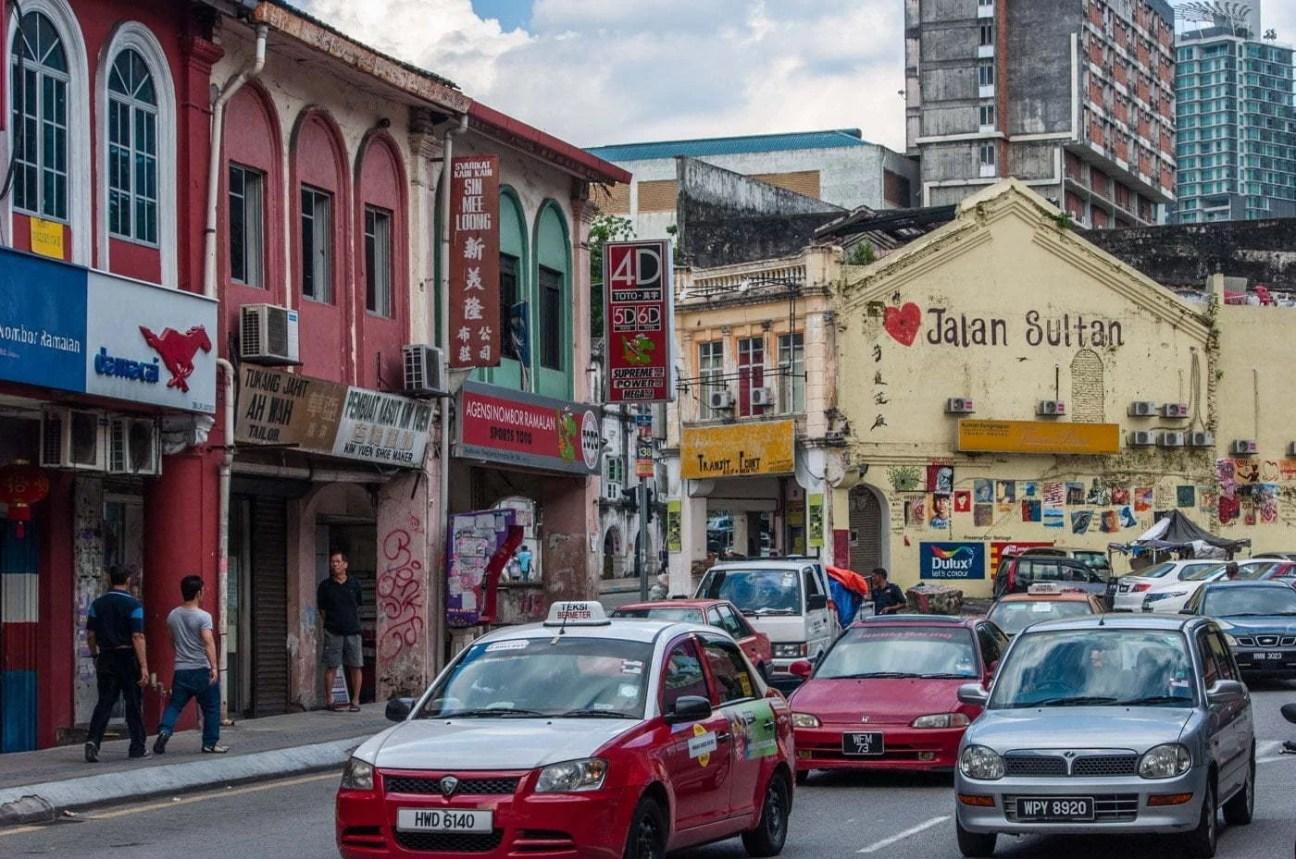 quartier chinatown - kuala lumpur - malaisie