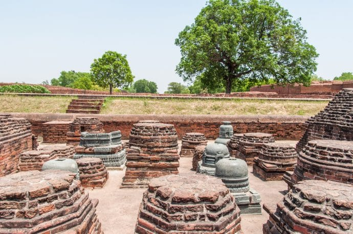 ancienne universite nalanda - inde